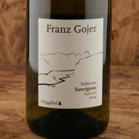Franz Gojer Glögglhof Südtiroler Karneid Sauvignon 2014