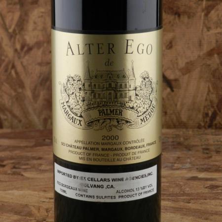 Château Palmer Alter Ego Margaux Red Bordeaux Blend 2000