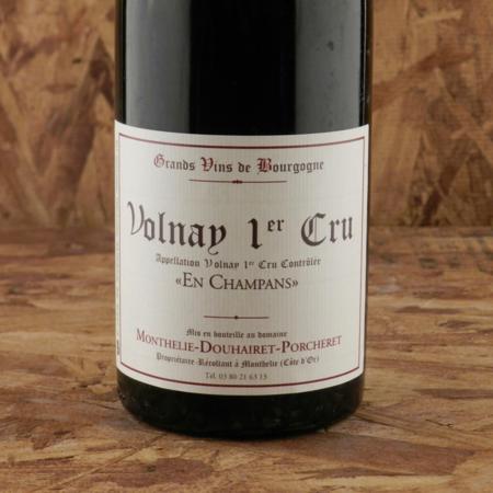 "Monthélie-Douhairet Porcheret ""En Champans"" Volnay 1er Cru Pinot Noir 1993"