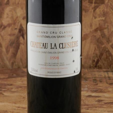 Château La Clusière Saint-Émilion Red Bordeaux Blend 1998