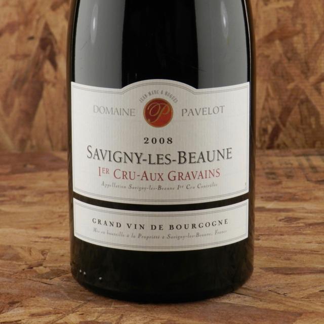 Aux Gravains Savigny-lès-Beaune 1er Cru Pinot Noir 2008