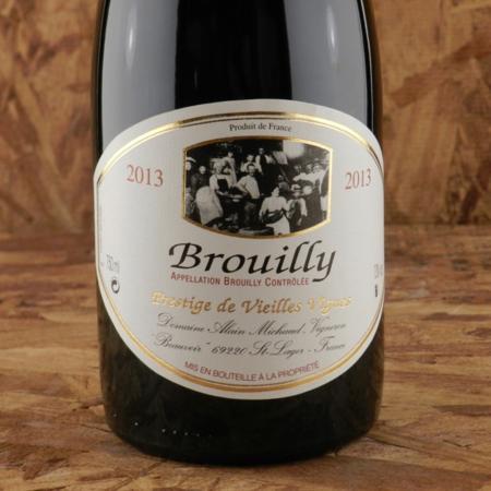 Domaine Alain Michaud Prestige de Vieilles Vignes Brouilly Gamay 2013