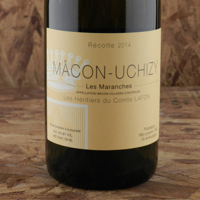 Les Maranches Mâcon-Uchizy Chardonnay 2014