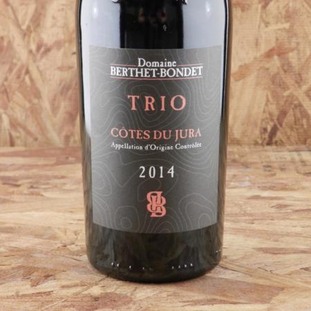 Domaine Berthet Bondet Trio Côtes du Jura Trousseau Blend 2014