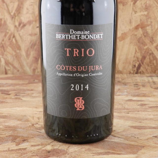 Trio Côtes du Jura Trousseau Blend 2014
