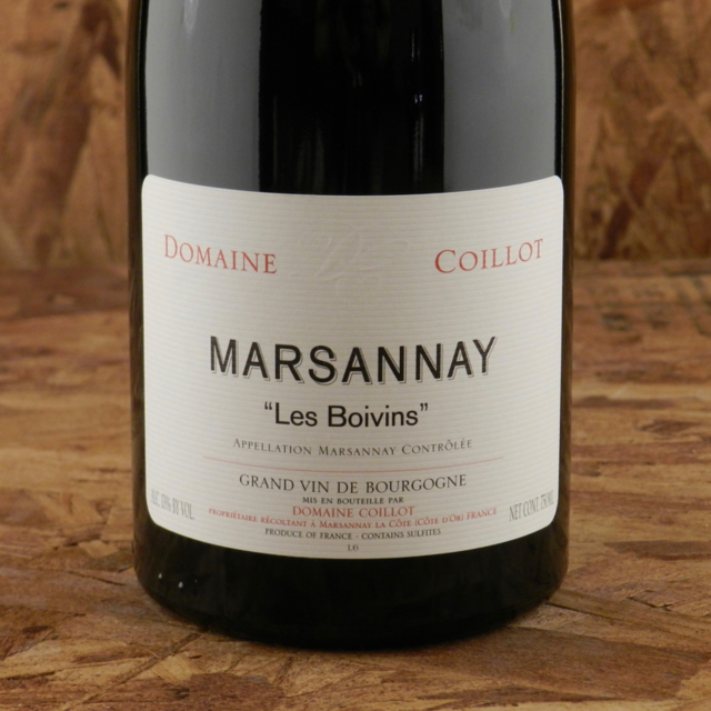 Les Boivins Marsannay Pinot Noir 2011