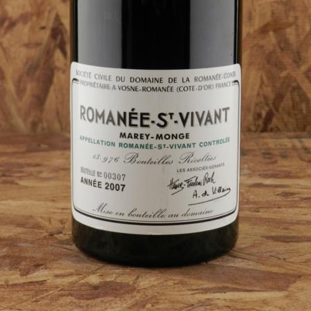 Domaine de la Romanée-Conti (DRC) Romanée-St. Vivant Pinot Noir 2007