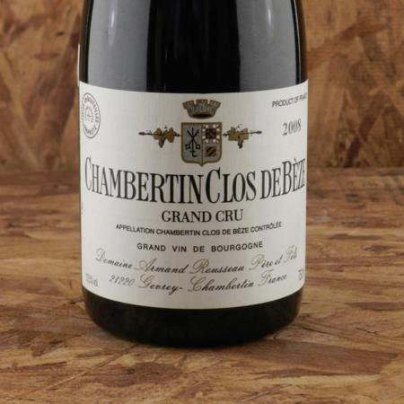 Domaine Armand Rousseau  Chambertin Clos de Bèze Grand Cru Pinot Noir 2008