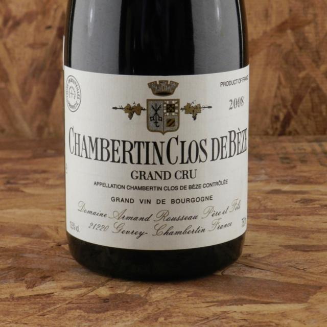 Chambertin Clos de Bèze Grand Cru Pinot Noir 2008