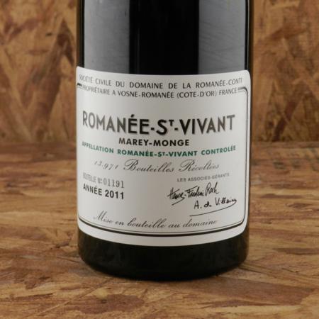 Domaine de la Romanée-Conti (DRC) Romanée-St. Vivant Pinot Noir 2011