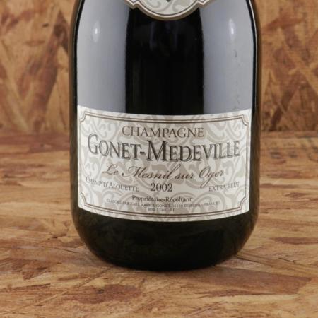 Gonet-Médeville Champ d'Alouette Le Mesnil sur Oger Extra Brut Champagne  2002