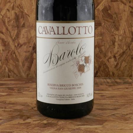 Cavallotto Vigna San Giuseppe Riserva Bricco Boschis Barolo Nebbiolo 2008 (1500ml)