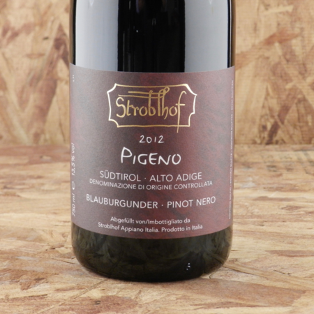 Stroblhof Pigeno Südtirol-Alto Adige Blauburgunder Pinot Nero 2012