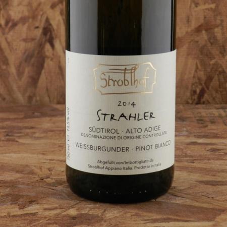 Stroblhof Strahler Alto Adige - Südtirol Weissburgunder 2014