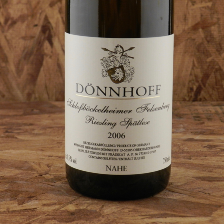 Dönnhoff Schloßböckelheimer Felsenberg Spätlese Riesling 2006