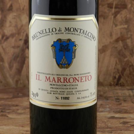 Il Marroneto Brunello di Montalcino Sangiovese 2010