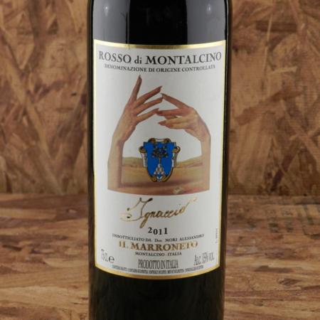 Il Marroneto Ignaccio Rosso di Montalcino Sangiovese 2011