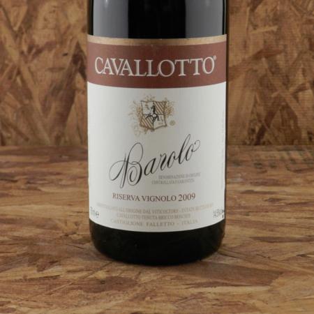 Cavallotto Riserva Vignolo Barolo Nebbiolo 2009