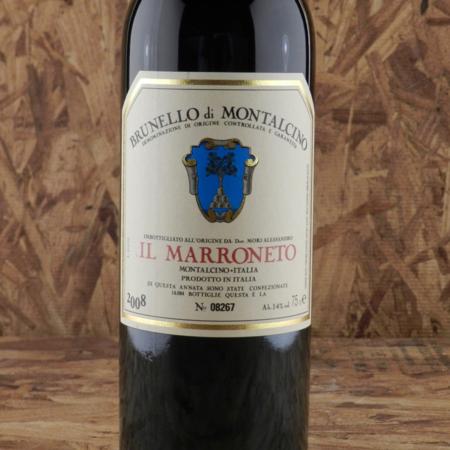 Il Marroneto Brunello di Montalcino Sangiovese 2008