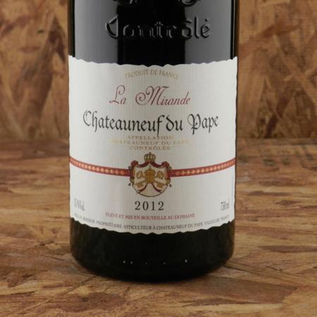 La Mirande Châteauneuf-du-Pape Red Rhone Blend 2012