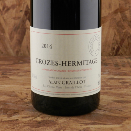 Alain Graillot Crozes-Hermitage Syrah 2014