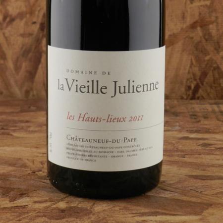 Domaine de la Vieille Julienne Les Hauts-Lieux Châteauneuf-du-Pape Red Rhone Blend 2011