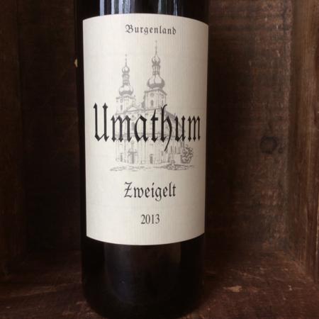 Umathum Burgenland Zweigelt 2013