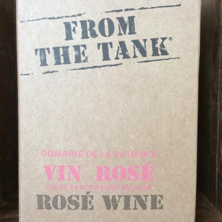 Domaine de la Patience From the Tank Vin de Pays du Pont du Gard Rosé Blend NV