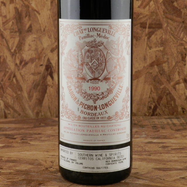Baron de Pichon-Longueville Pauillac Red Bordeaux Blend 1990