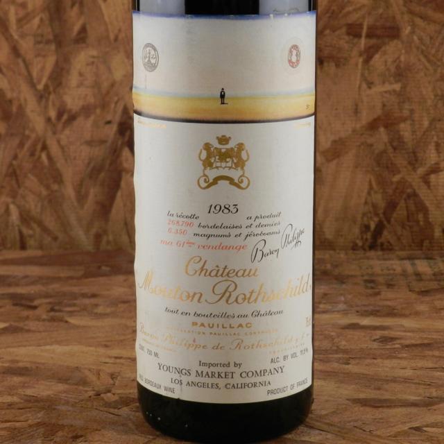 Pauillac Red Bordeaux Blend 1983