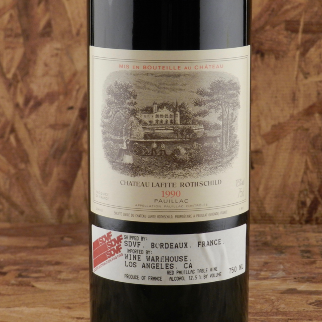 Pauillac Red Bordeaux Blend 1990