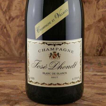 Josè Dhondt Brut Blanc de Blancs Champagne Chardonnay NV