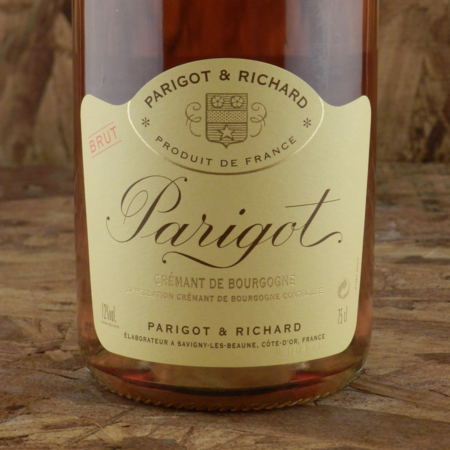 Parigot & Richard Brut Rosé Crémant de Bourgogne Pinot Noir NV