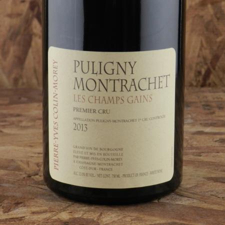 Pierre-Yves Colin-Morey Les Champs Gains Puligny-Montrachet 1er Cru Chardonnay 2013