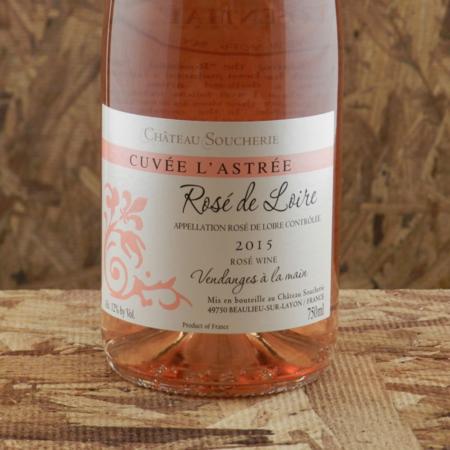 Château Soucherie Cuvée L'Astrée Rosé de Loire Cabernet Franc 2015