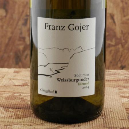 Franz Gojer Glögglhof Südtiroler Karneid Weißburgunder 2014