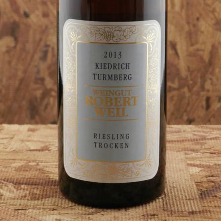 Weingut Robert Weil Kiedrich Turmberg Trocken Riesling 2013
