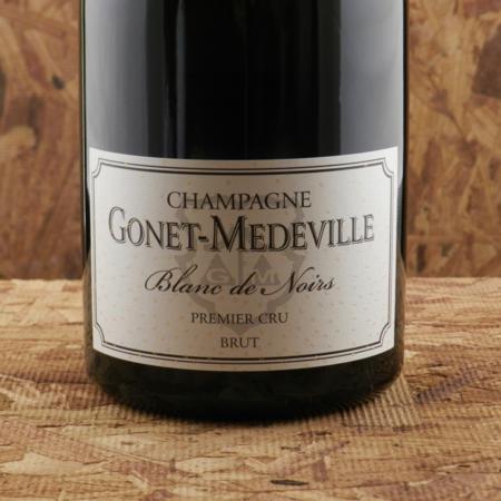 Gonet-Médeville Brut Blanc de Noirs 1er Cru Champagne Pinot Noir NV (1500ml)