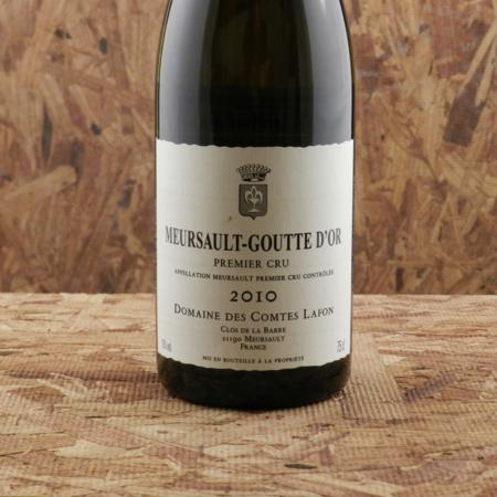 Domaine des Comtes Lafon Meursault-Goutte d'Or 1er Cru Chardonnay 2010