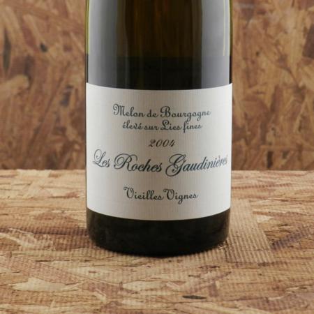 Domaine Déramé (Cave du Château de la Morandière) Les Roches Gaudinières Vieilles Vignes Muscadet Sèvre et Maine Melon de Bourgogne 2004