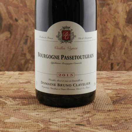 Domaine Bruno Clavelier Vieilles Vignes Bourgogne Passetoutgrains Gamay Pinot Noir 2013