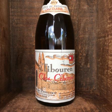 """Cibonne Côtes de Provence """"Cru Classe"""" Rouge Tibouren 2015"""