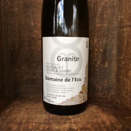 Domaine de l'Ecu (Guy Bossard) Granite Muscadet de Sèvre-et-Maine Melon de Bourgogne 2014