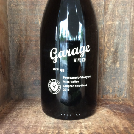 Garage Wine Co. Lot #48 Portezuelo Vineyard Carignan 2013