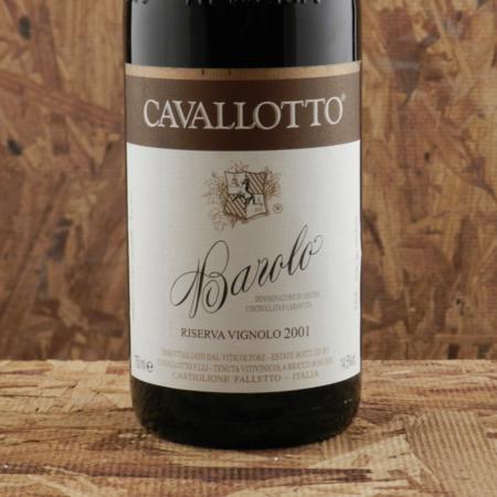 Cavallotto Riserva Vignolo Barolo Nebbiolo 2001