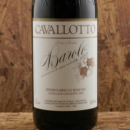 Cavallotto Vigna San Giuseppe Riserva Bricco Boschis Barolo Nebbiolo 2004 (1500ml)