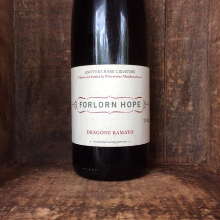 Forlorn Hope Dragone Ramato Rorick Vineyard Pinot Gris  2014