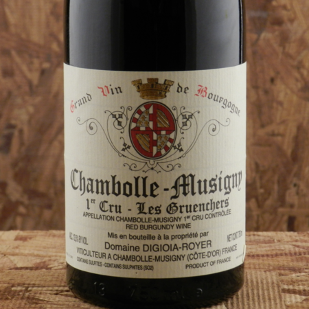 Digioia-Royer Les Gruenchers Chambolle-Musigny 1er Cru Pinot Noir 2009