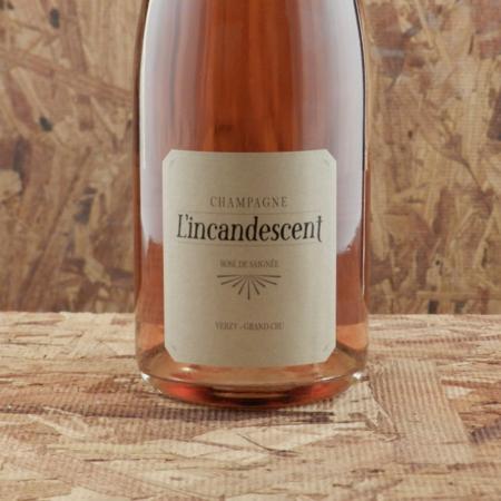 Champagne Mouzon Leroux & Fils L'incandescent Rosé De Saignée Grand Cru Champagne Blend NV