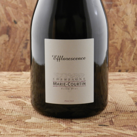 Marie Courtin Efflorescence Extra Brut Champagne Pinot Noir 2010
